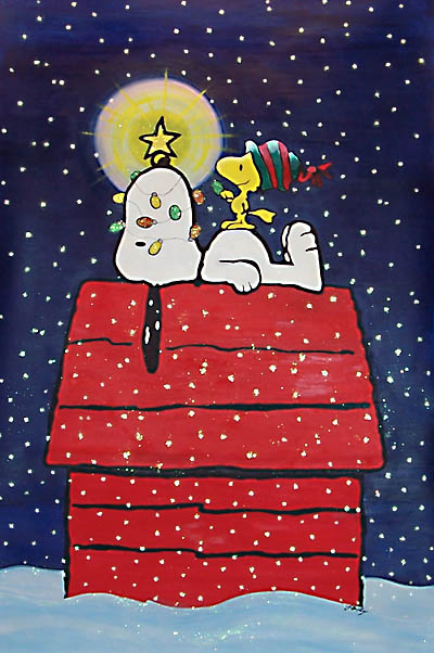 larger photo - Snoopy Christmas